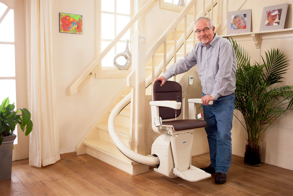 Montascale elettrici per anziani e disabili for Tipi di interruttori elettrici